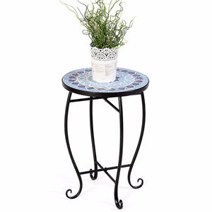 Outdoor Indoor Accent Table Plant Stand