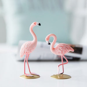 1 Piece Mini Flamingo Figurine Home Decoration
