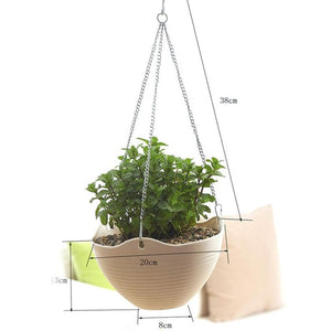 Plastic Wall Hanging Storage Basket Plant Planter