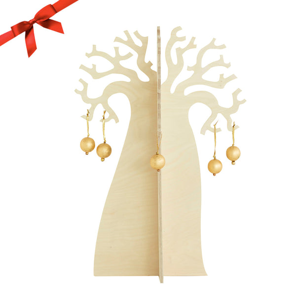 "Baobab ""Xmas"" Tree in Birch Ply"