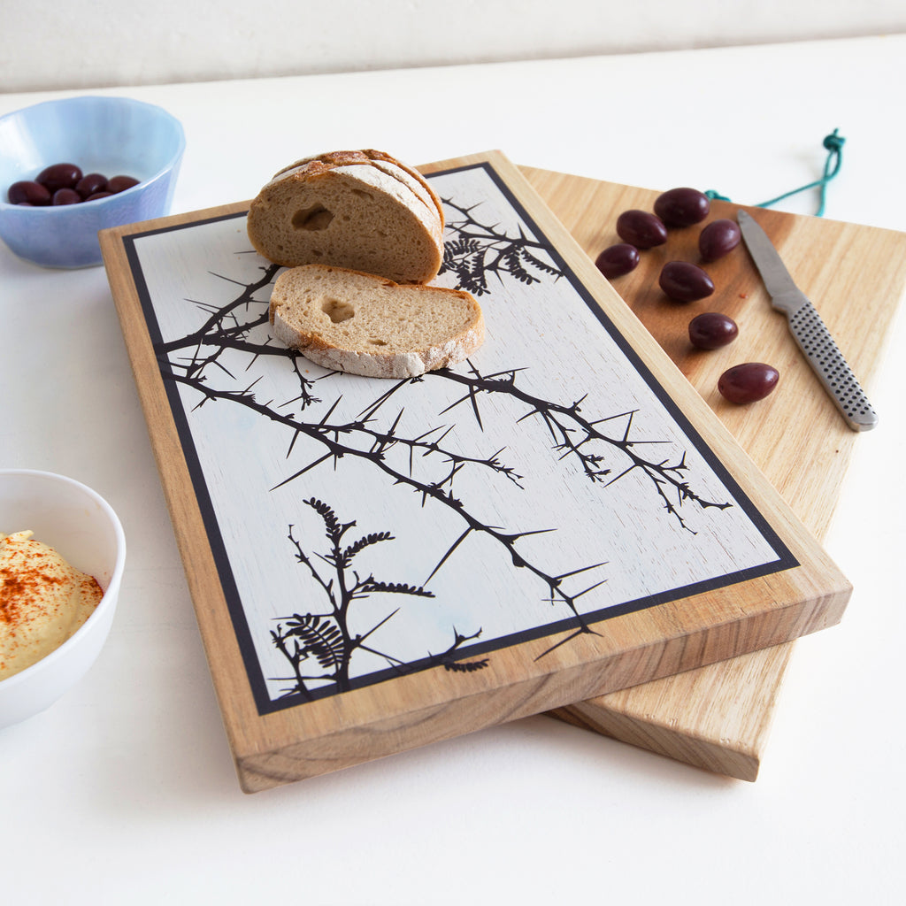 Designer Chopping Board with Camel Thorn print
