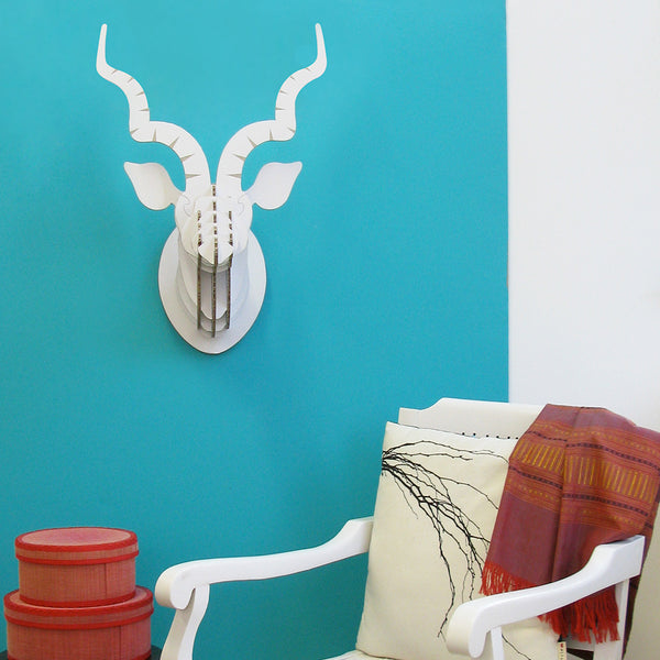 Head On Design Recycled Board kudu head