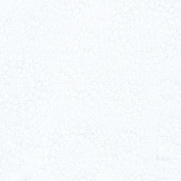 "108"" Wide Quilt Backing - White Tone on Tone"