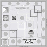"CGR - 8"" Curvy Log Cabin Trim Tool"