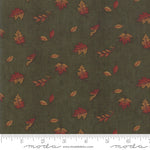 Country Charm Falling Leaves - Autumn Green 93-15