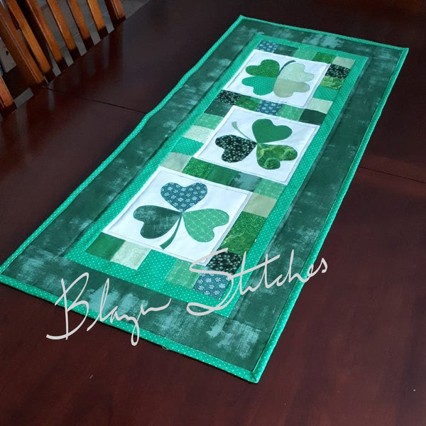 Paddy's Chain Table Runner Pattern or Kit
