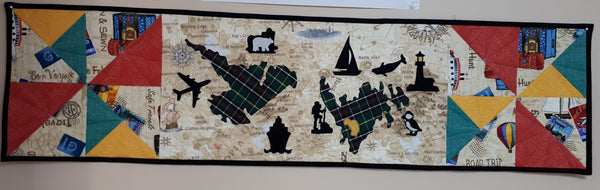 On The Go! in Newfoundland Quilt Block Pattern
