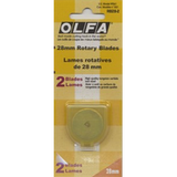 Replacement 28mm Rotary Blade - Olfa
