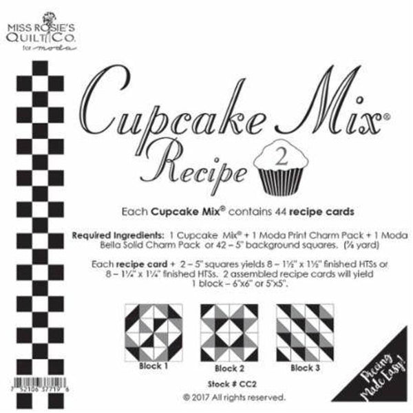Cupcake Mix Recipes - Moda