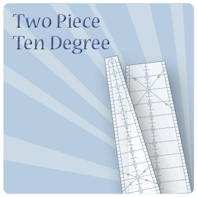 Two Piece Ten Degree Wedge ruler