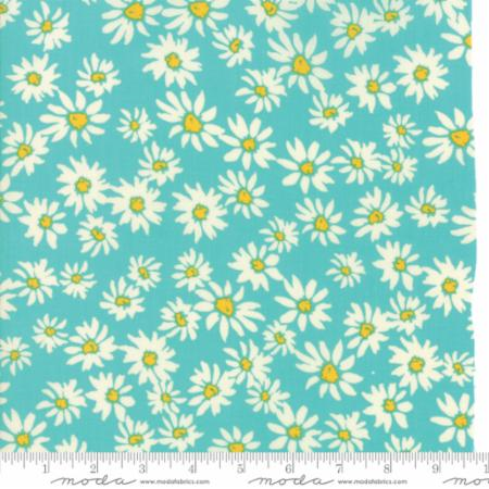 Painted Garden - Turquoise 15