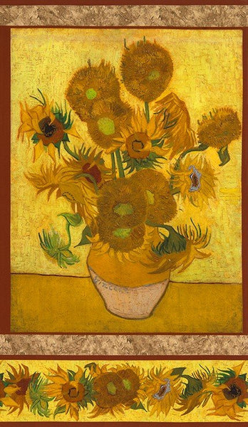 Sunflower Panel - Vincent Van Gogh