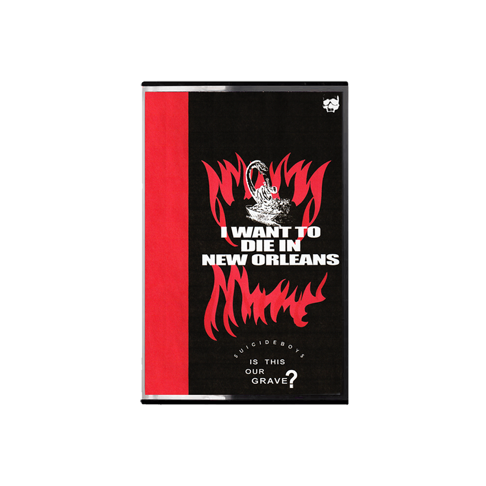 i want to die in new orleans cassette digital uicideboy