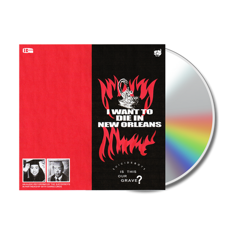 I Want To Die in New Orleans CD + Digital