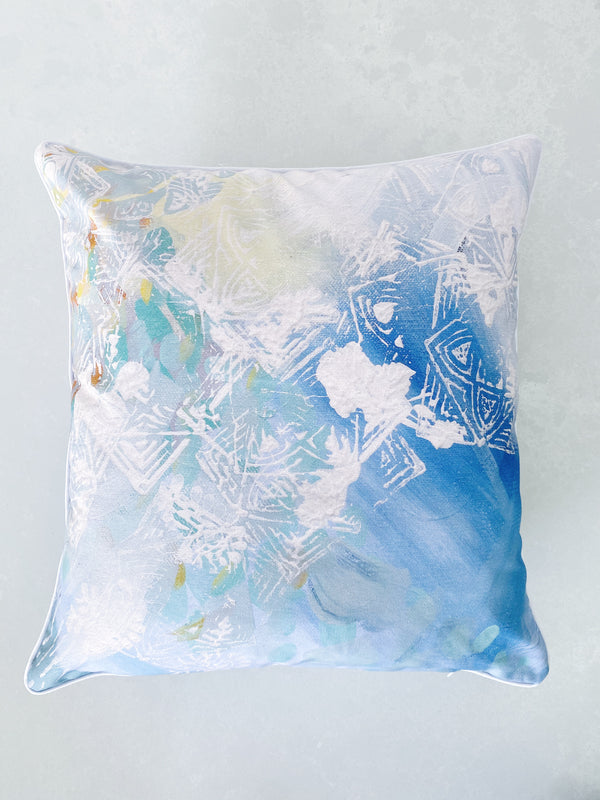 SUMMER FIELDS ART CUSHION  COVER