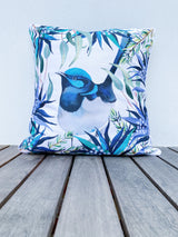 FAIRY WREN ART CUSHION  COVER