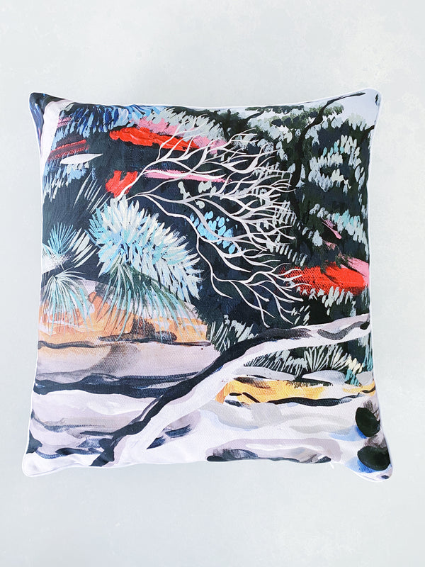 IN THE FOREST ART CUSHION COVER