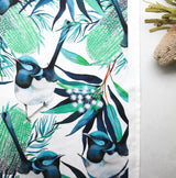 BLUE FAIRY WREN TEA TOWEL