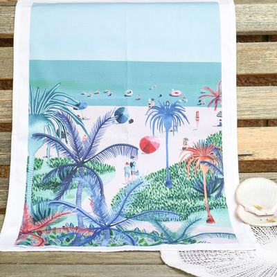 AUSTRALIAN PALM TEA TOWEL