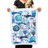 HUMP BACK WHALE TEA TOWEL