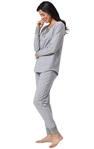Addison Meadow Cotton Pajamas Women - PJ Sets for Women, Slub Knit