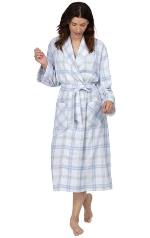 Addison Meadow Robes for Women - Cotton Flannel Robes for Women
