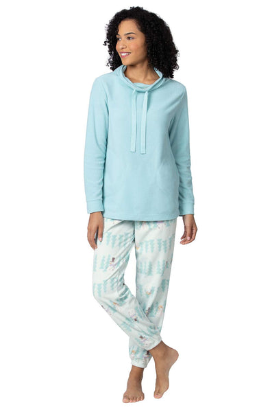 Addison Meadow Fleece Pajamas for Women - Jogger PJs for Women Set