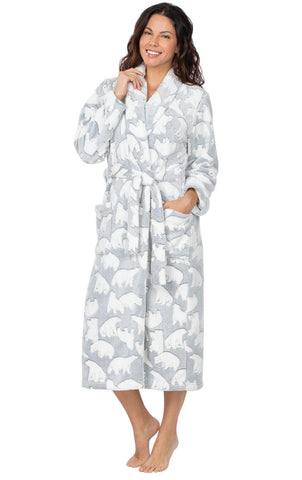Addison Meadow Women's Bathrobe Comfy - Fleece Robes for Women