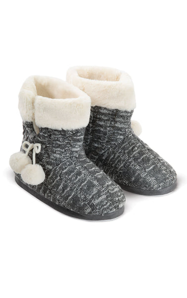 Addison Meadow Bootie Slippers for Women - Slipper Boots for Ladies