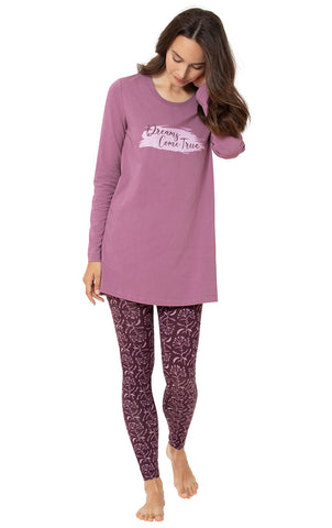 Addison Meadow Pajamas for Women - PJs Women, Long Sleeve Top & Leggings