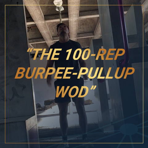 The 100-Rep Burpee-Pullup wod