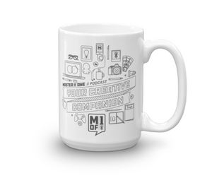 "Mof1 ""Creative Companion"" Mug (Right-handed)"