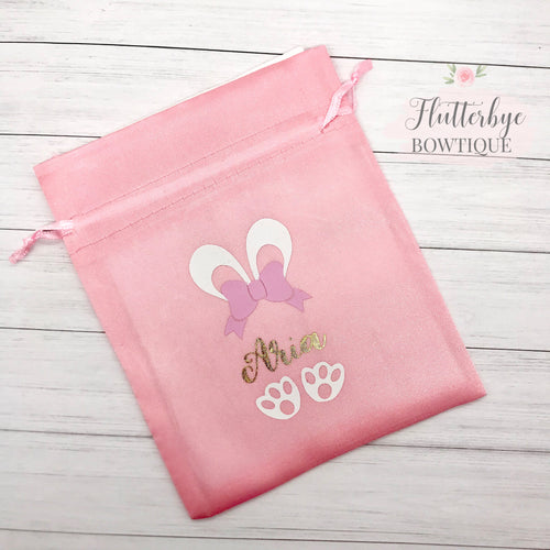 Personalised Easter Gift Bag - Flutterbye Bowtique