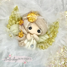 Angel Hair Bow, Little Angel Bow - Flutterbye Bowtique