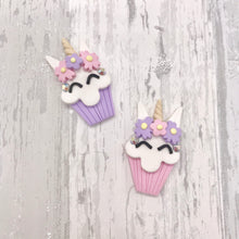 Unicorn Cupcake Birthday Bow - Flutterbye Bowtique