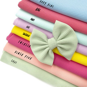 Soft Fabric bows