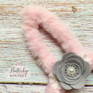 Fluffy Bunny Ears headband, Easter headband