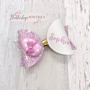 Easter Egg Hair Bow - Flutterbye Bowtique