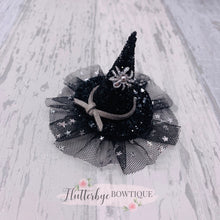 Mini Witches Hat, Halloween Clip - Flutterbye Bowtique
