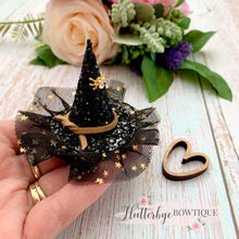 Mini Witches Hat, Halloween Clip