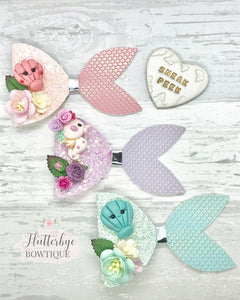 Under The Sea Bow Collection - Flutterbye Bowtique