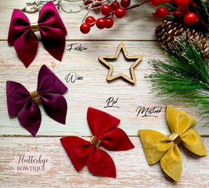 Rich Velvet Pinch Hair Bow