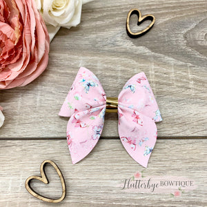 Pretty Butterfly Party Pinch Hair Bow