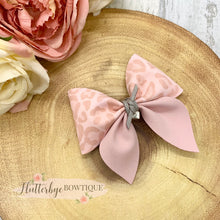 Pastel Leopard Party Pinch Hair Bow