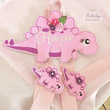 Dinosaur Hair Bow Holder - Flutterbye Bowtique