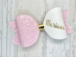 Large Personalised Any Colour Bow