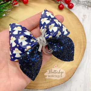 Angel Party Pinch Hair Bow