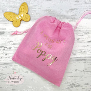 Personalised Gift Bag - Flutterbye Bowtique