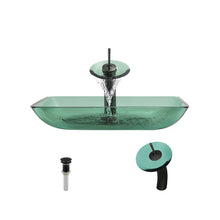 P046 Emerald-ABR Bathroom Waterfall Faucet Ens by Polaris