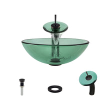 P106 Emerald-ABR Bathroom Waterfall Faucet Ensemble by Polaris